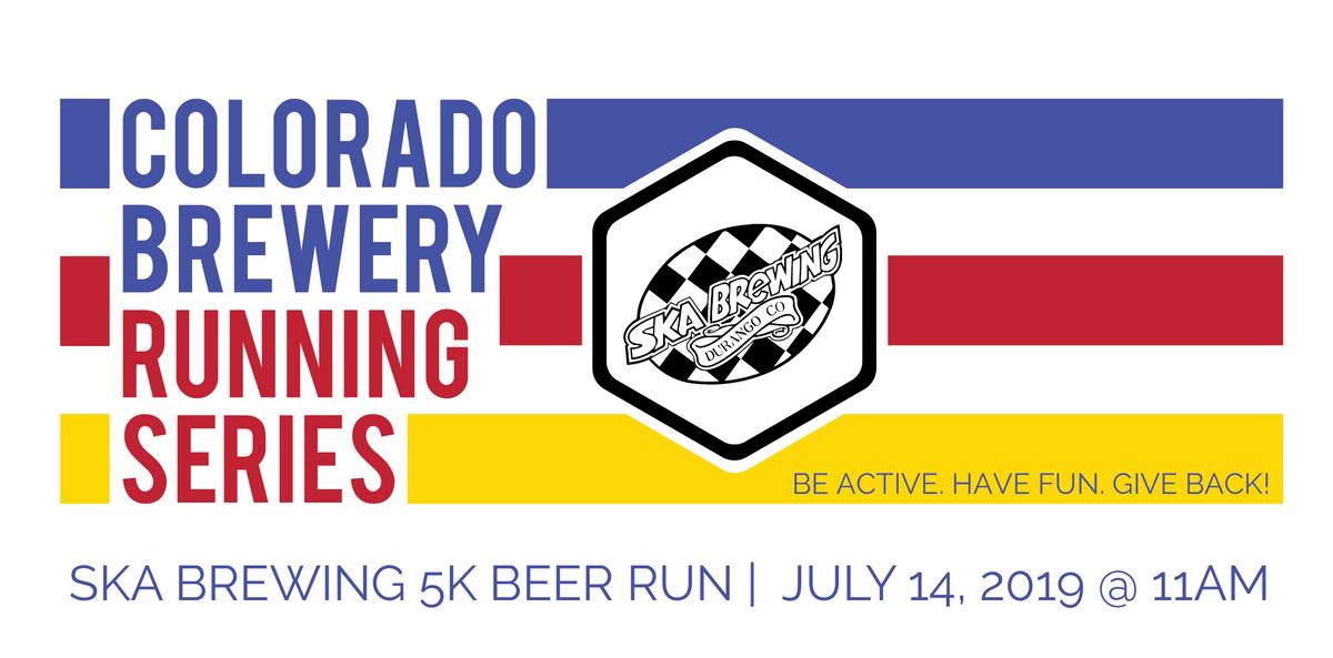 Beer Run - Ska Brewing 5k - Colorado Brewery Running Series