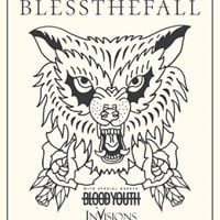 Blessthefall W Blood Youth  InVisions  Fibbers York