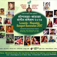 Lonavala Khandala Sangeet Sammelan &quotLkss.17&quot