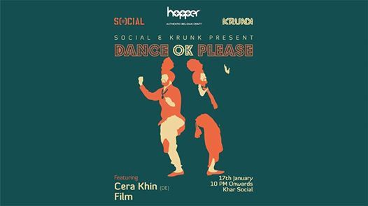 Dance OK Please 038 Cera Khin (DE) & FILM  17th Jan
