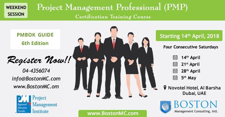 Project Management Professional (PMP) Certification Course at Boston ...