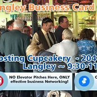Business Card Social - Langley