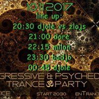 Progressive &amp Psychedelic Trance Party GKC Uice