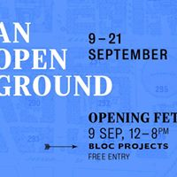 An Open Ground - opening fete