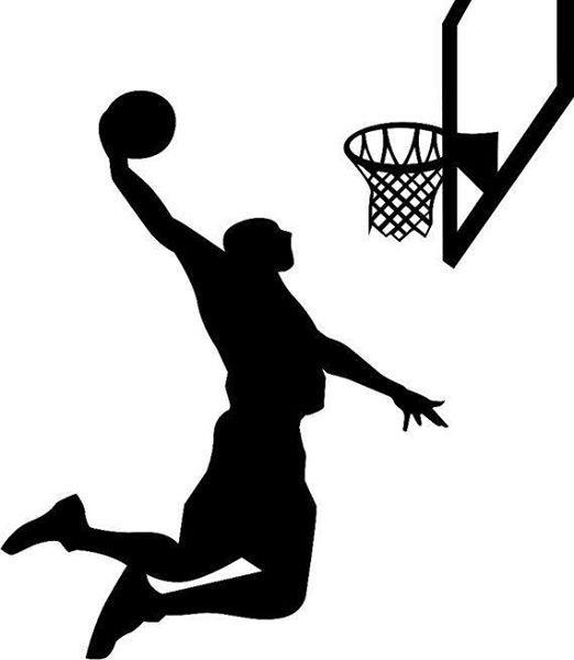 Boys A Basketball League Game