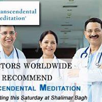 Introductory session on Transcendental Meditation Shalimar Bagh