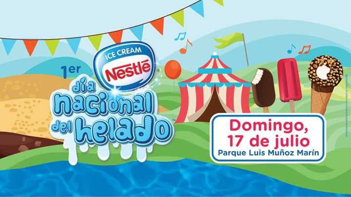 Nestl ice cream d a nacional del helado san juan for Rio grande arts and crafts festival 2016