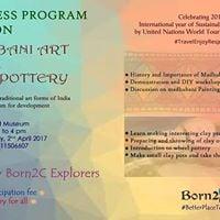 Awareness Program on Madhubani Art &amp Wheel Pottery