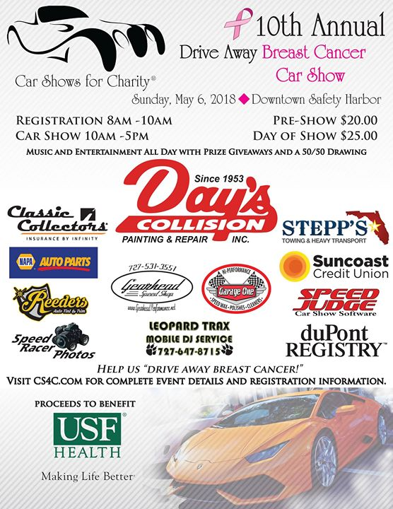 Car Shows For Charity Th Annual Drive Away Breast Cancer Show At - Car show event insurance
