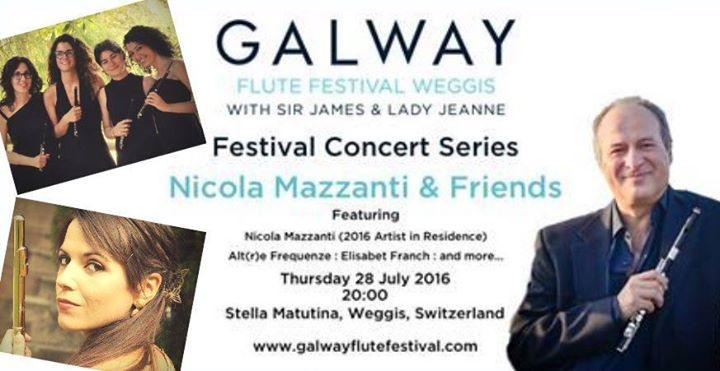 Galway Flute Festival - Piccolo Gala Concert Nicola Mazzanti & Friends