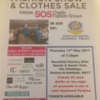 Fashion Show 2017 in aid of John Eastwood Hospice Trust