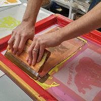 Quick and Dirty Screenprinting