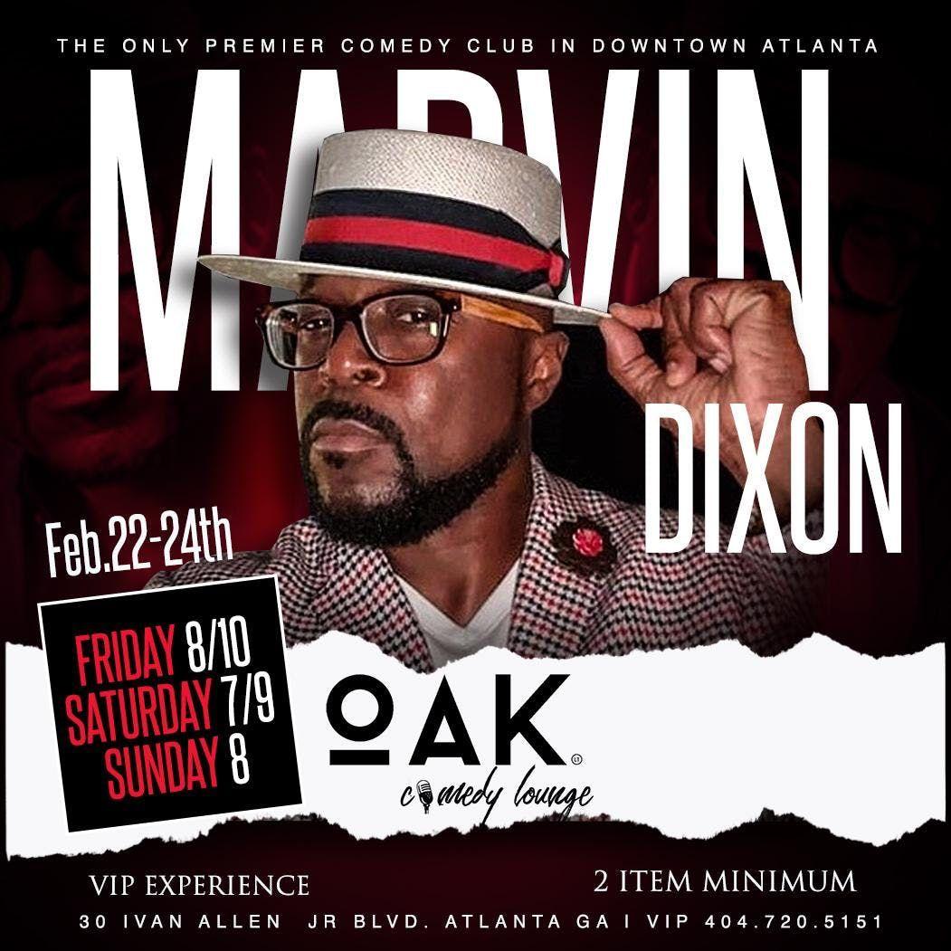 Marvin Dixon at OAK Atlanta Comedy Live