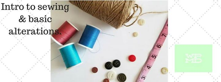 Intro to sewing and basic alterations