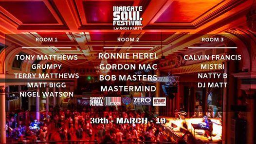 Margate Soul Festival Launch Party
