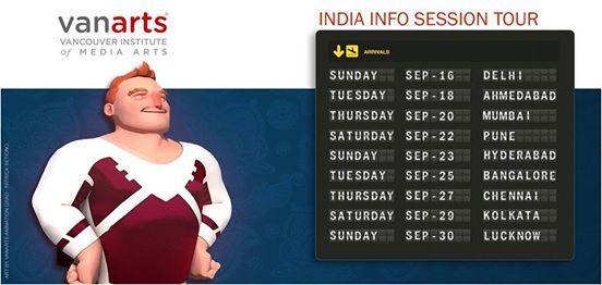 VanArts Info Session - Chennai