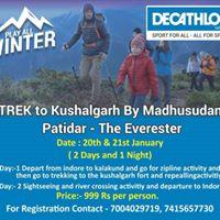 Hike to Kushalgarh with Madhusudan - the Evererster