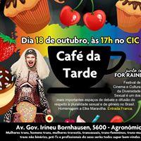 Caf da Tarde no Teatro do CIC (Agronmica)