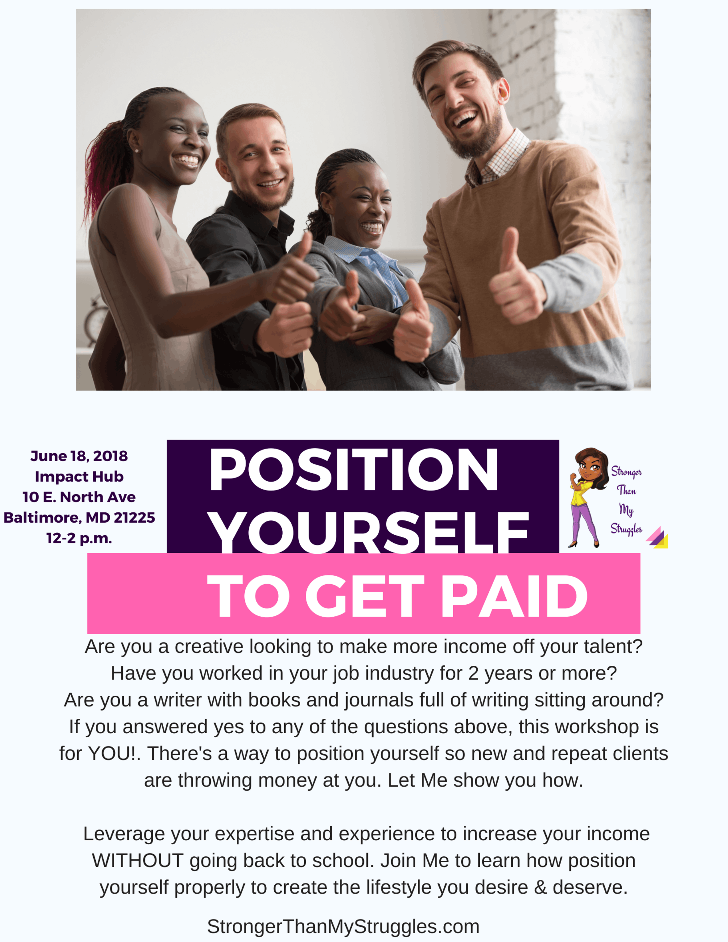 Position Yourself To Get Paid