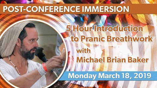 Introduction to Pranic Breathwork with Michael Brian Baker