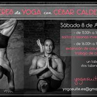 Talleres de Yoga con Csar Caldera En Madrid