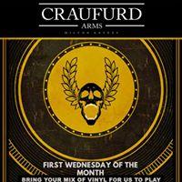 Craufurd Arms Vinyl night - BYOR