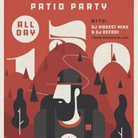 Canada Day Patio Party