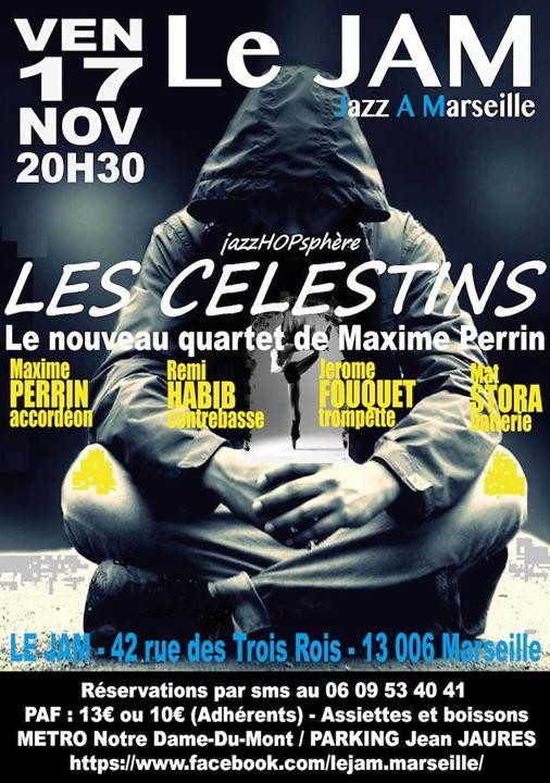 Les Celestins  Maxime Perrin quartet
