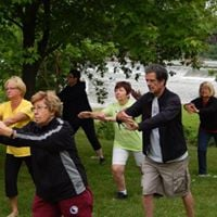 Tai Chi in the Park - Van Wagners Beach