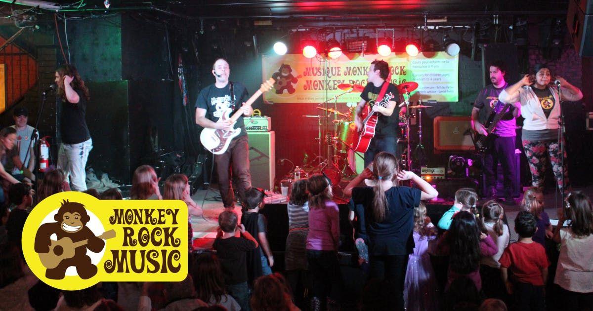 Monkey Rock Music Family Day Concert