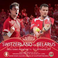 Davis Cup Playoffs Switzerland vs Belarus