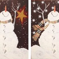 Illuminated Snowman Fundraiser for PTA