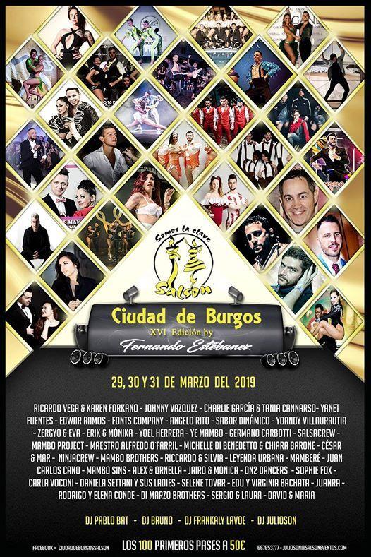 Ven a Salson Ciudad De Burgos con Dancelab