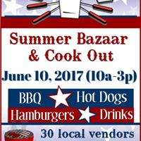 Summer Bazaar &amp Cookout