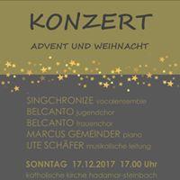 Chorkonzert in Hadamar-Steinbach