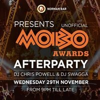 MOBOs Afterparty - 29TH November - Free Entry