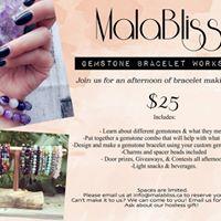 MalaBliss Gemstone Bracelet Workshop