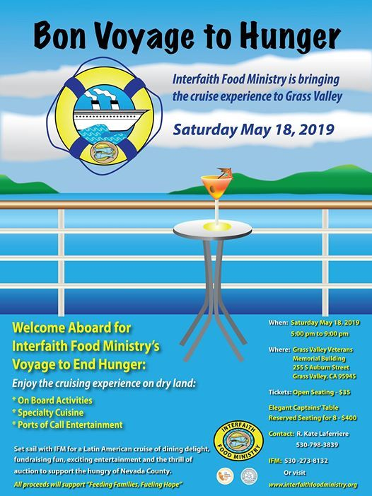 IFMs 2019 Gala at Grass Valley Veterans Memorial Building