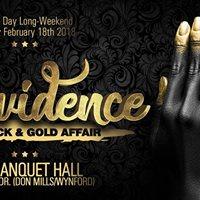 Black &amp Gold Affair Providence