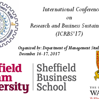 International Conference on Research and Business Sustainability