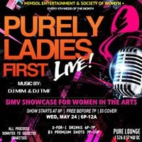 Purely Ladies FIRST LIVE at Pure Lounge - May 24 2017