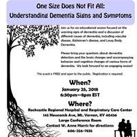 Understanding Dementia Signs &amp Symptoms
