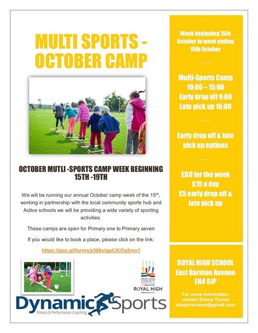 Multi Sports - October Camp
