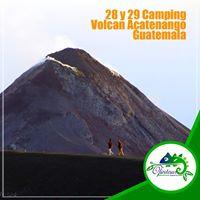 28 y 29 Camping Volcan Acatenango Guatemala