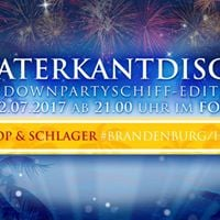 Waterkantdisco Sundownpartyschiff-Edition