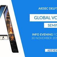 AIESEC Delft Global Volunteer seminar