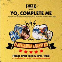 Yo Complete Me  CJ Hungerman x Bunny XIv