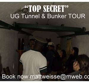 Underground Top Secret Tour