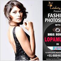 PhotoShoot with LopaMudra in Dubai