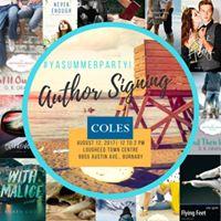 Coles YA Book Event